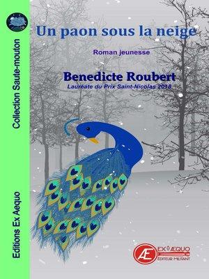 cover image of Un paon sous la neige