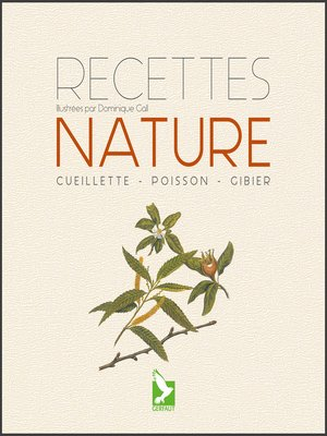 cover image of Recettes nature