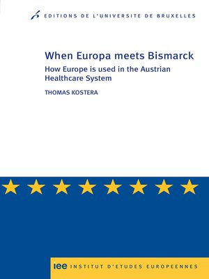 cover image of When Europe meets Bismarck