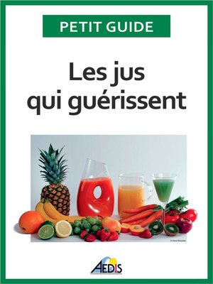 cover image of Les jus qui guérissent