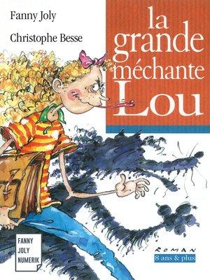 cover image of La grande méchante Lou