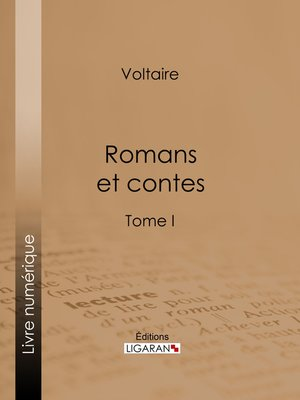 cover image of Romans et contes