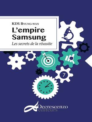 cover image of L'empire Samsung