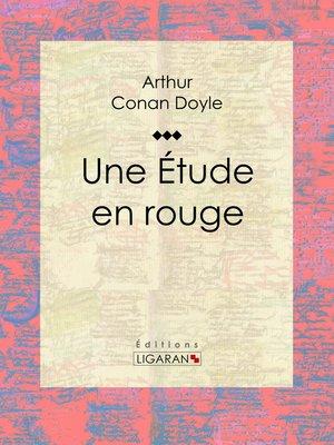 cover image of Une Etude en rouge