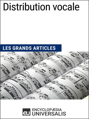 cover image of Distribution vocale