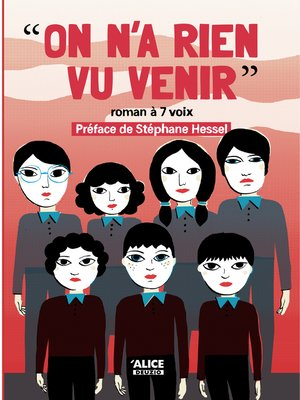cover image of On n'a rien vu venir