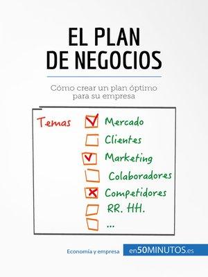cover image of El plan de negocios