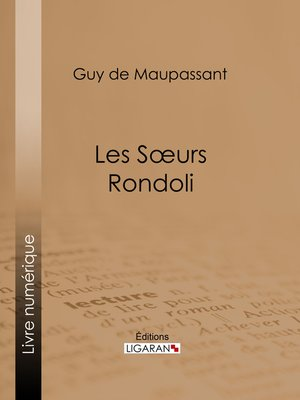cover image of Les sœurs Rondoli
