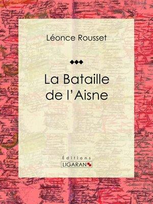 cover image of La Bataille de l'Aisne