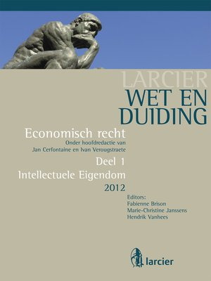 cover image of Wet en Duiding Intellectuele eigendom