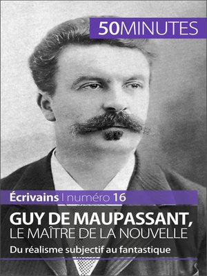 cover image of Guy de Maupassant, le maître de la nouvelle