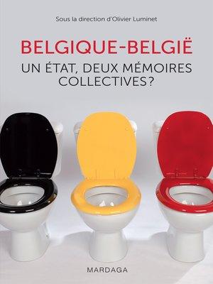 cover image of Belgique--België