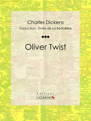 cover image of Oliver Twist