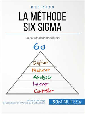 cover image of La méthode Six Sigma