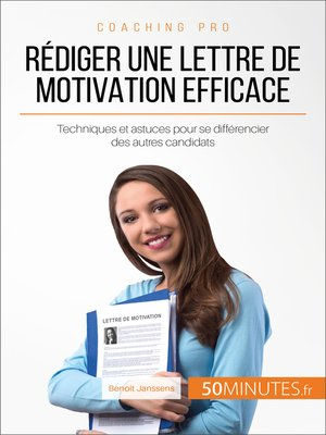 cover image of Rédiger une lettre de motivation efficace