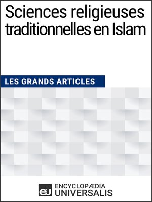 cover image of Sciences religieuses traditionnelles en Islam