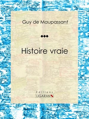 cover image of Histoire vraie