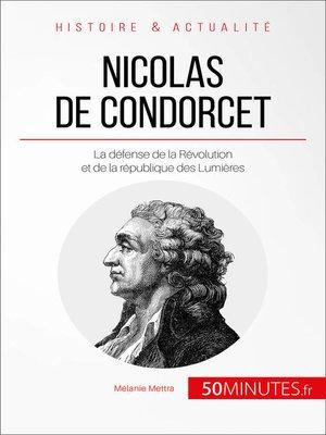 cover image of Nicolas de Condorcet
