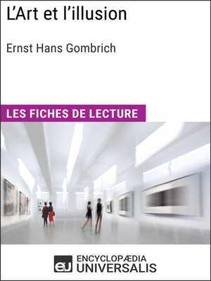cover image of L'Art et l'illusion d'Ernst Hans Gombrich