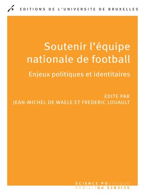 cover image of Soutenir l'équipe nationale de football
