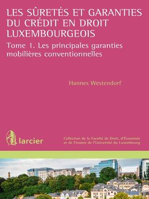 cover image of Les suretés et garanties du crédit en droit luxembourgeois