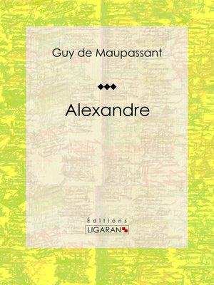 cover image of Alexandre