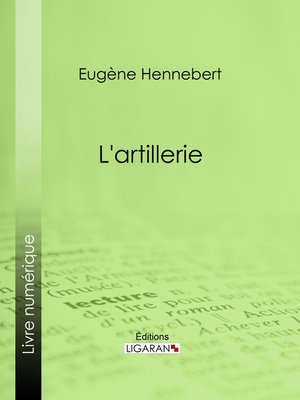 cover image of L'artillerie