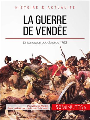 cover image of La guerre de Vendée