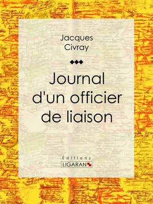 cover image of Journal d'un officier de liaison