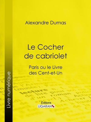 cover image of Le Cocher de cabriolet