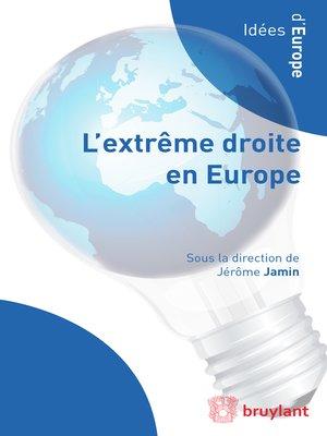 cover image of L'extrême droite en Europe