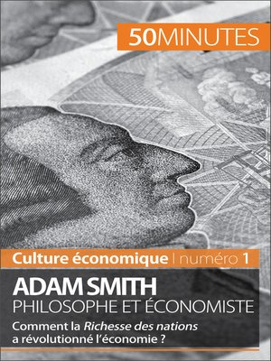 cover image of Adam Smith philosophe et économiste