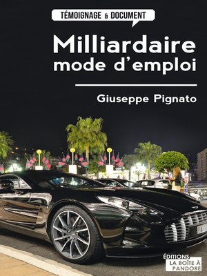 cover image of Milliardaire, mode d'emploi