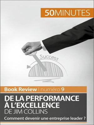 cover image of De la performance à l'excellence de Jim Collins (analyse de livre)