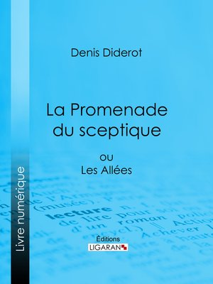 cover image of La Promenade du sceptique