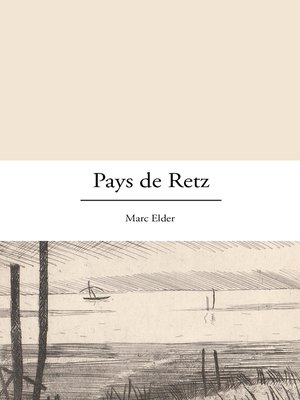 cover image of Pays de Retz