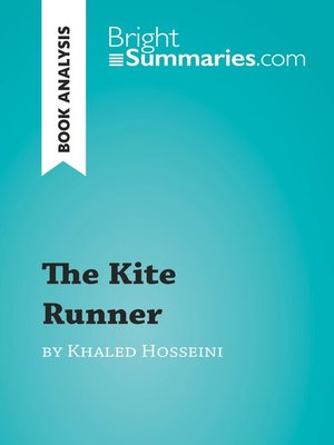 cover image of Book Analysis: The Kite Runner by Khaled Hosseini