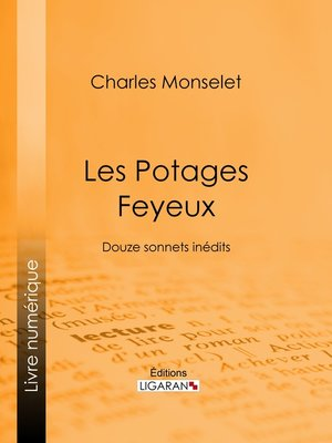 cover image of Les Potages Feyeux