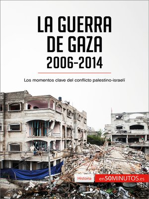 cover image of La guerra de Gaza (2006-2014)