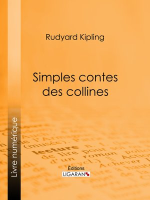 cover image of Simples contes des collines