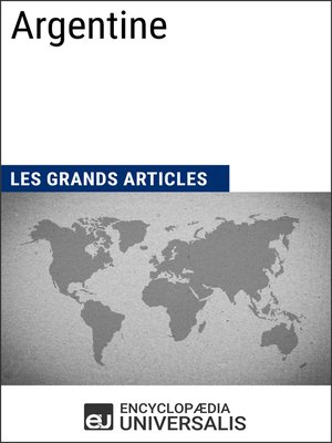 cover image of Argentine (Les Grands Articles d'Universalis)