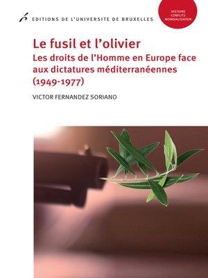cover image of Le fusil et l'olivier