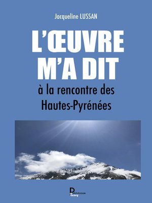 cover image of L'Œuvre m'a dit