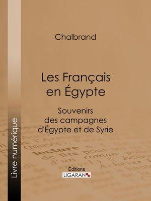 cover image of Les Français en Égypte