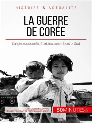 cover image of La guerre de Corée