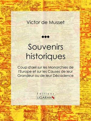 cover image of Souvenirs historiques