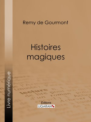 cover image of Histoires magiques
