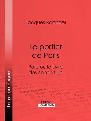 cover image of Le portier de Paris