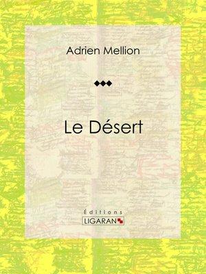 cover image of Le désert