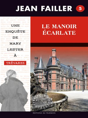 cover image of Le manoir écarlate